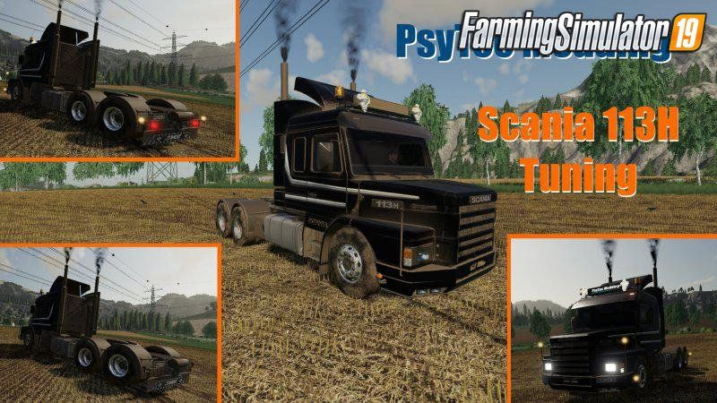 Scania 113h Tuning V1 0 For Fs19 With Images