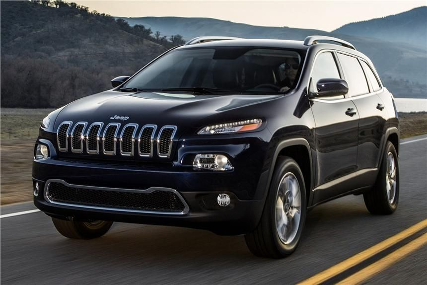 First Official Pictures Of The New Jeep Cherokee