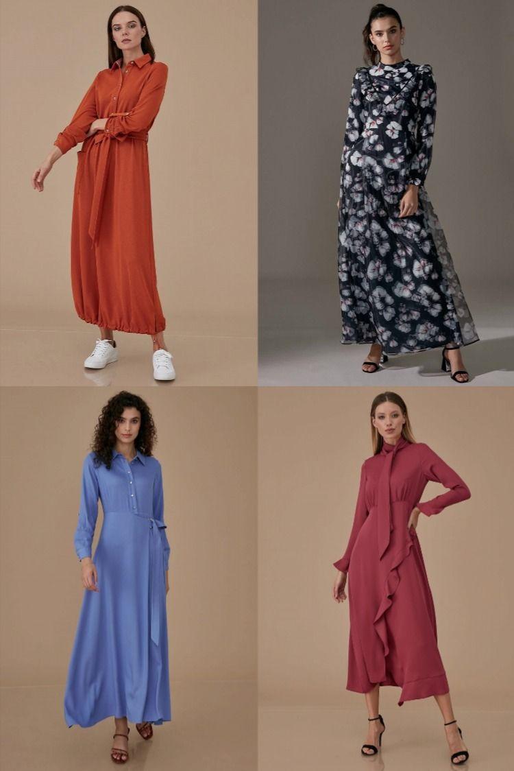 2020 Kis Sezonu En Yeni Kayra Elbise Modelleri 2020 Trend Tesettur Elbise Modelleri Elbise Elbise Modelleri Trendler
