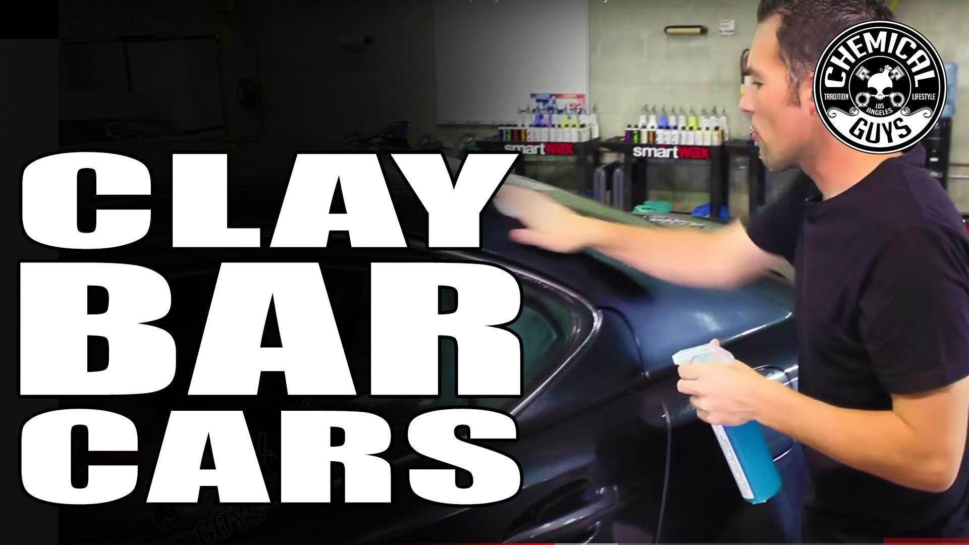 How To Clay Bar Your Car Like a Pro Remove Overspray