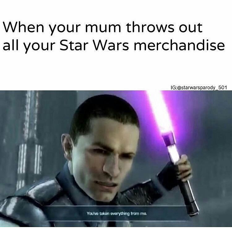 We Can T Be Friends Or Family If You Don T Like Star Wars Sorry I Had To Re Upload Some Of These Again Lol Star Wars Jokes Star Wars Comics Star