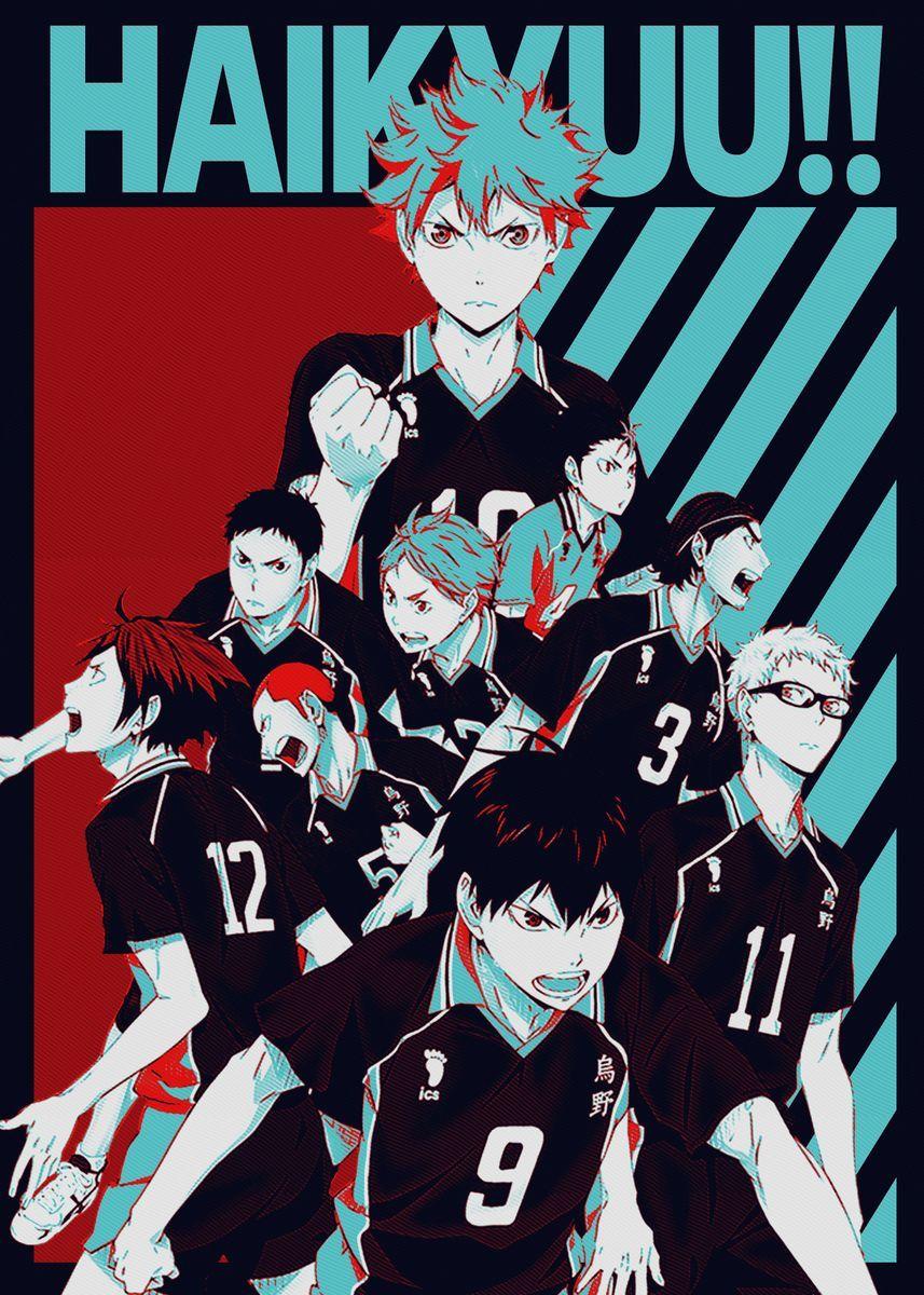 'Haikyu' Poster Print by fujiwara   Displate