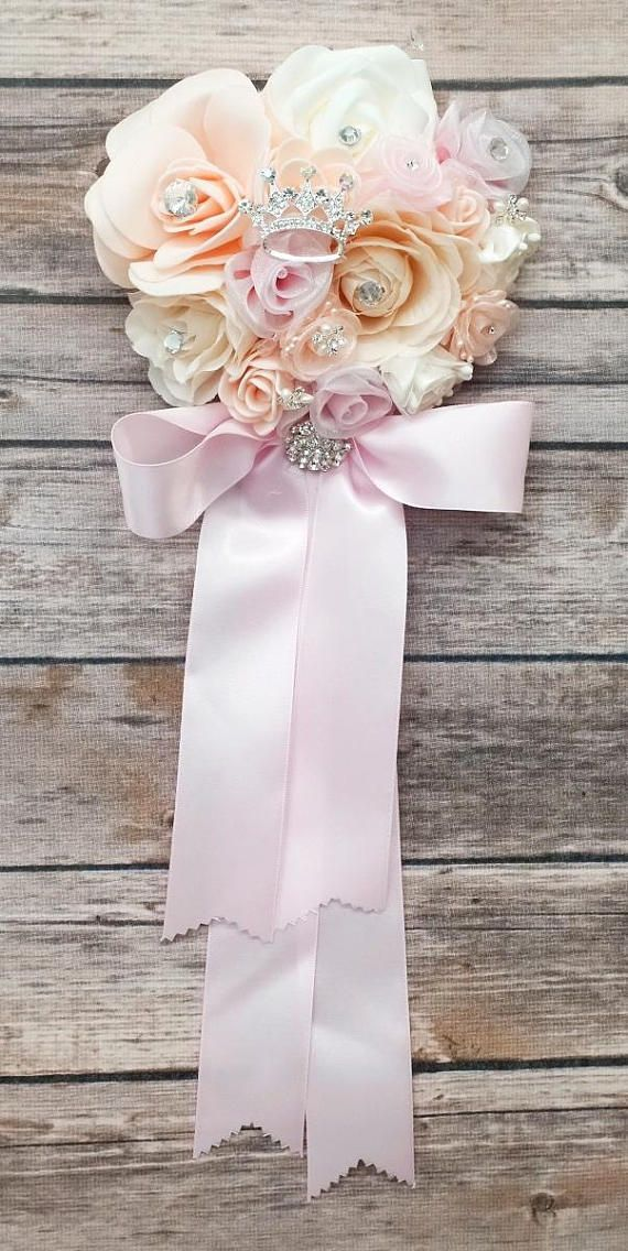 Baby Shower Corsage Girl