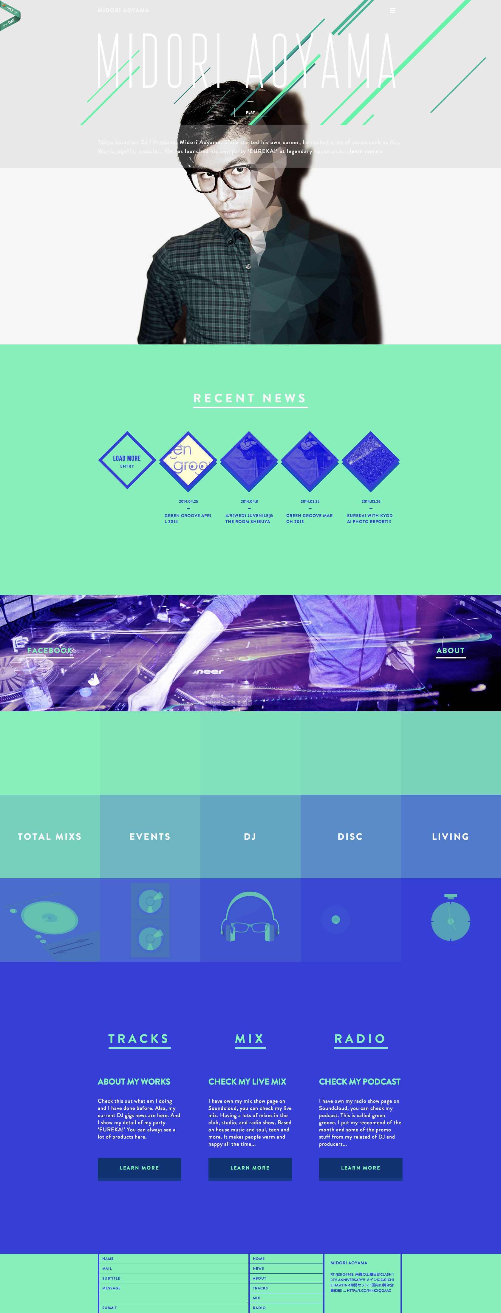 Letters Inc. is Japanese web design firm making stylish web site for the world's…