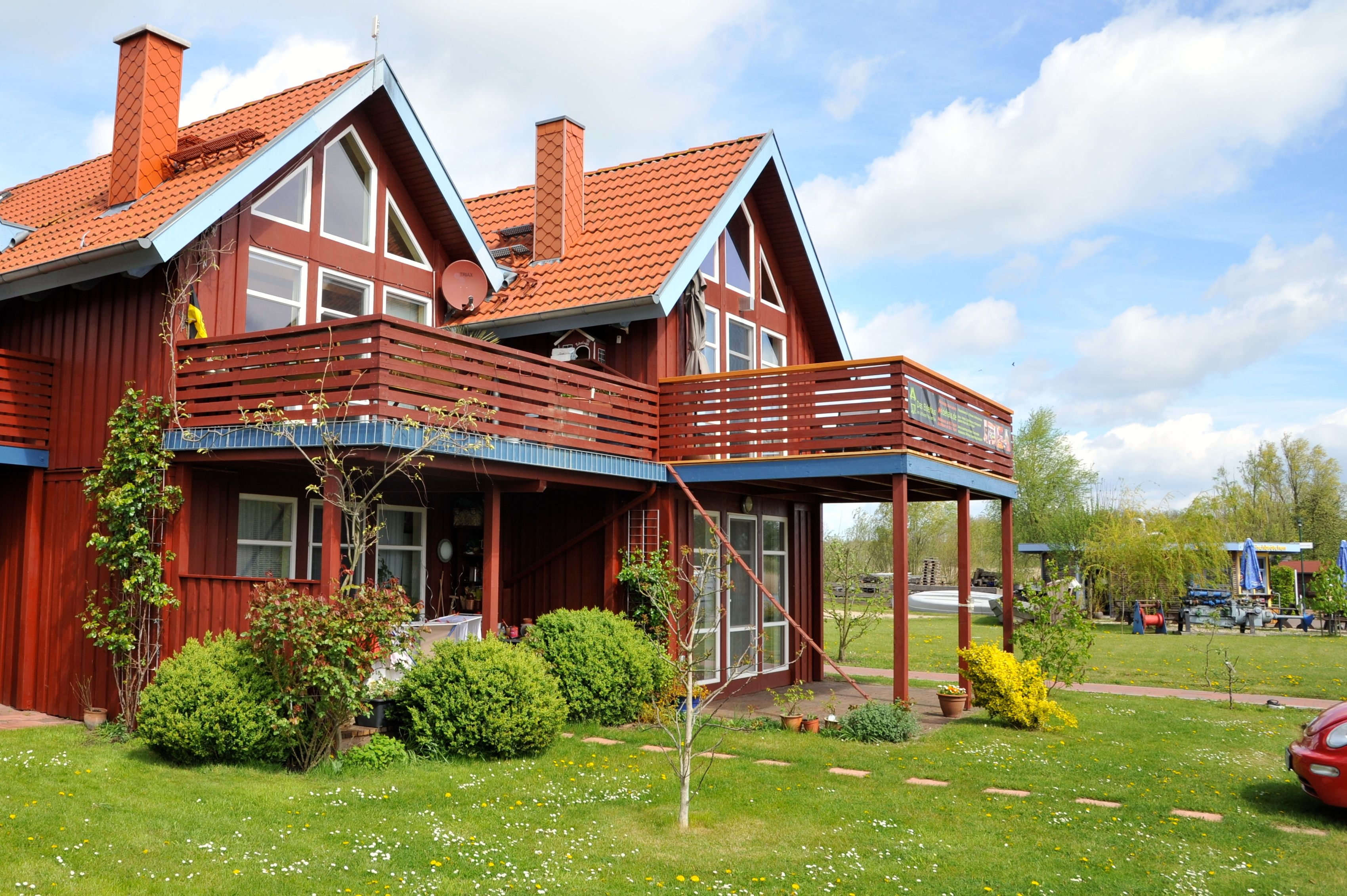 Das Eldehaus Mecklenburgische Seenplatte Ferienhaus