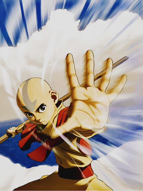 Airbending at its Finest Avatar airbender, Avatar aang