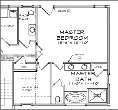 Average Master Bathroom Size Trendecors