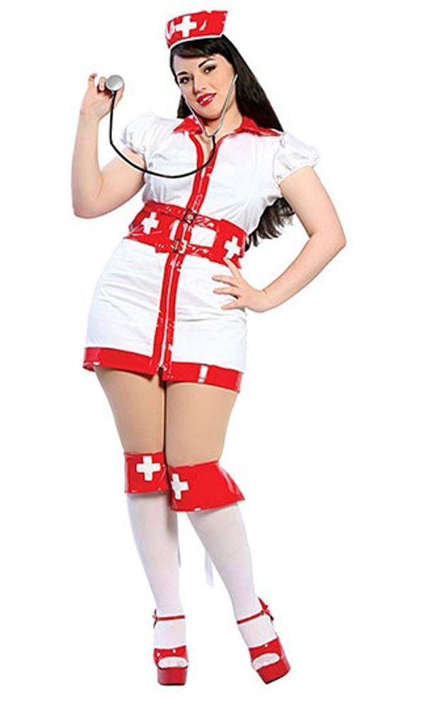 b828553a2 The Nurse - Plus Size Halloween Costumes for Women