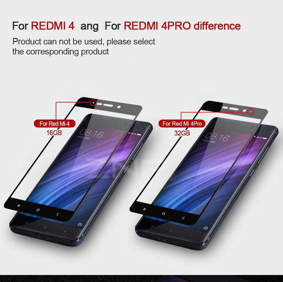Tempered Glass For Xiaomi Redmi 4 Pro 4x Prime Note