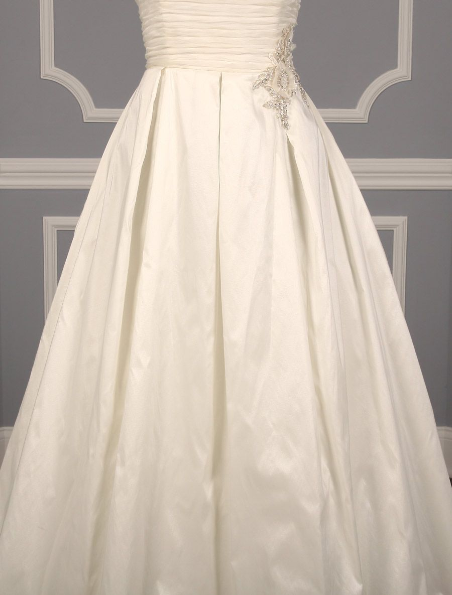 Anne Barge Clover Wedding Dress Blue Willow Bride Discounted Anne