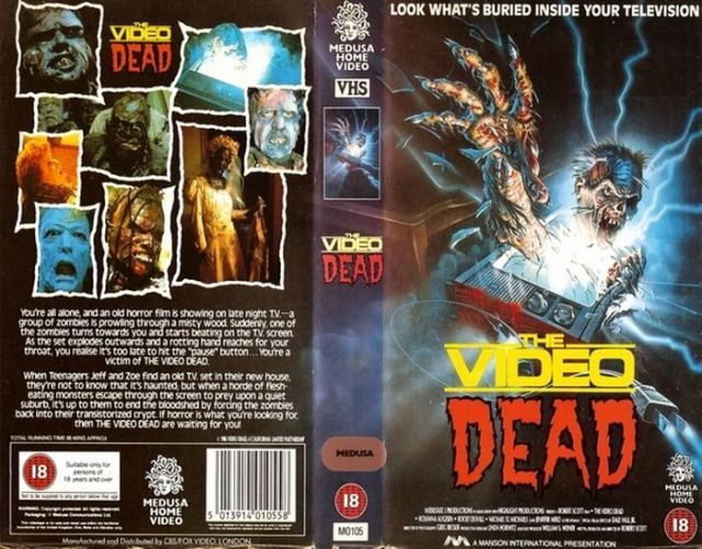 Image result for VHS Horror Movie covers
