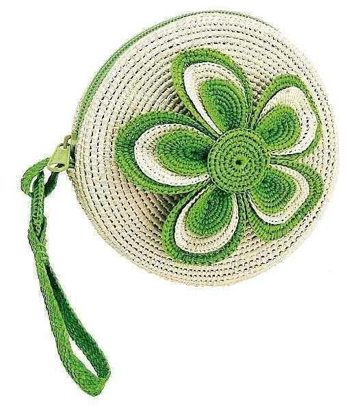 Monederos de crochet: Fotos de diseños y patrones - Monedero de ...