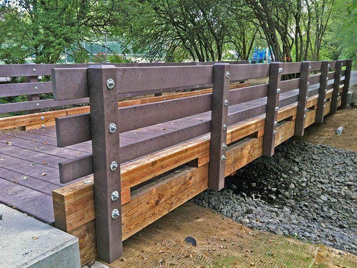 Pedestrian Timber Bridge Design Construction And Supply Bridge