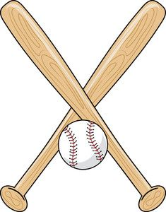 baseball bat clipart paper ca sports pinterest baseball bats rh pinterest com  softball bat clip art images