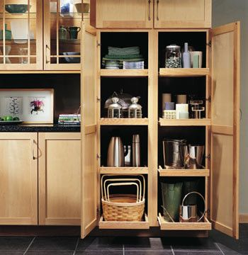 Alluring Tall Kitchen Utility Cabinets Top Kitchen Remodeling ...