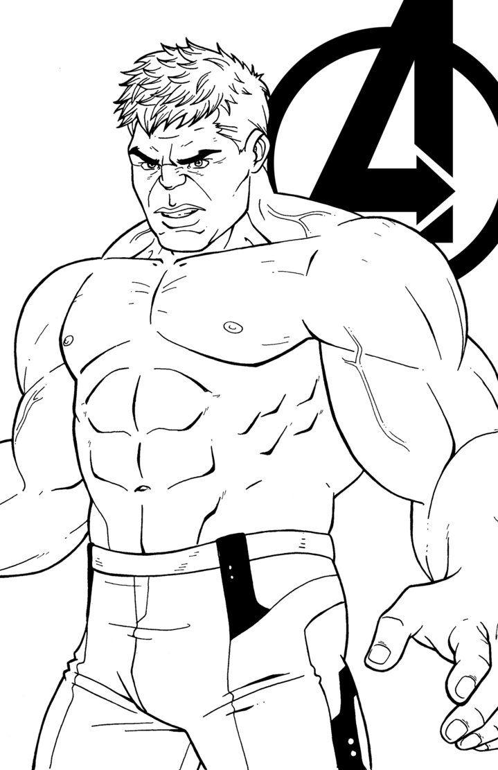 Hulk By Jamiefayx Lineart Avengers Hulk Tony Stark Robert