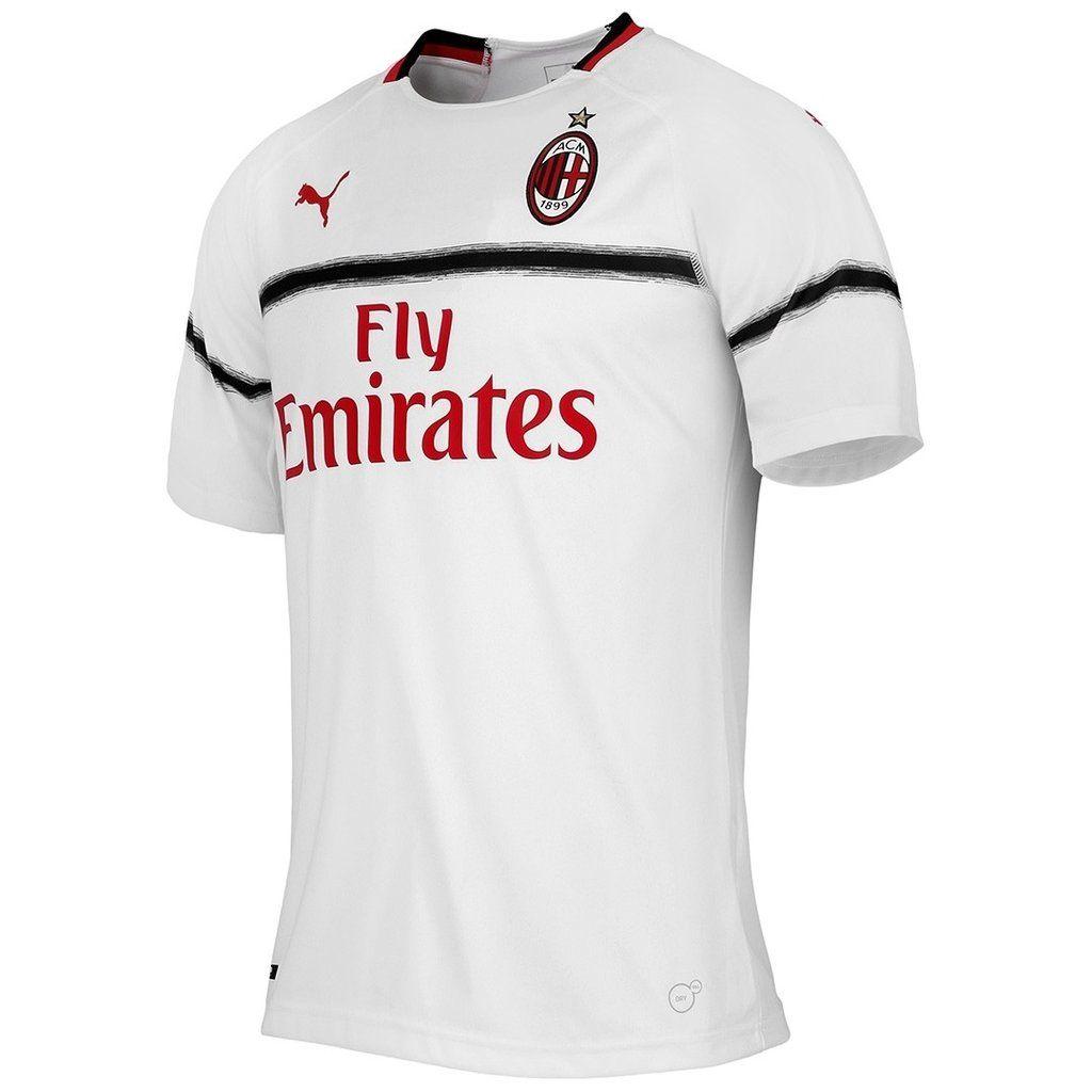 Ac Milan Puma Calcio Soccer Club Away Kit 2018 19 Shirt Football Jersey Fussball Camisa Trikot Maillot Maglia Bnwt Ac Milan Soccer Shirts Jersey Shirt