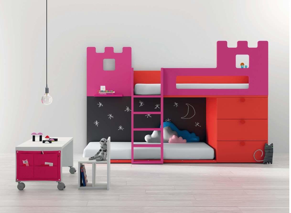 literas juveniles e infantiles y camas tren para nios dormitorios juveniles infantiles y