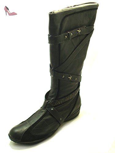 Ga36 Bottes 37 Noir Noir Eu Femme Chaussures Cafènoir dfSPW4wS