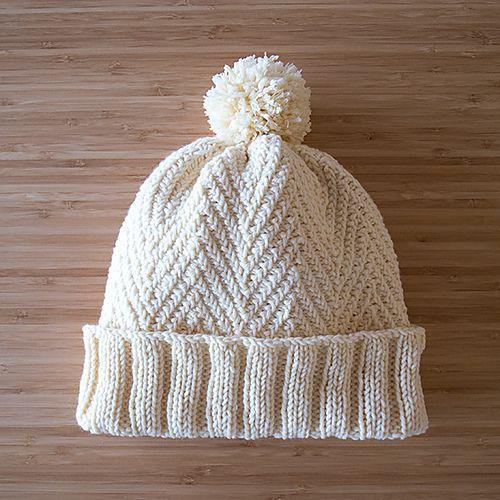 Ravelry: White Hat 白い帽子 pattern by Mariko Mikuni (三國 万里子 ...
