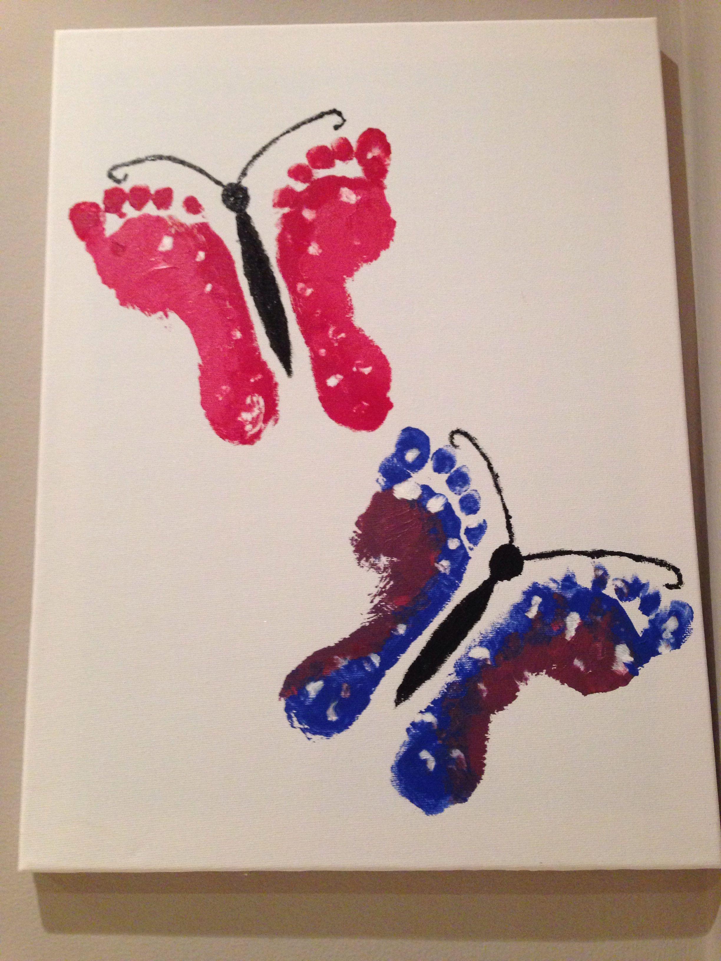 Handprint Butterflies