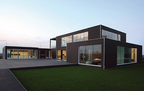 Pre Fab Modern Office Buildings Prefab Vacation Home Small In Your Backyard Officepod