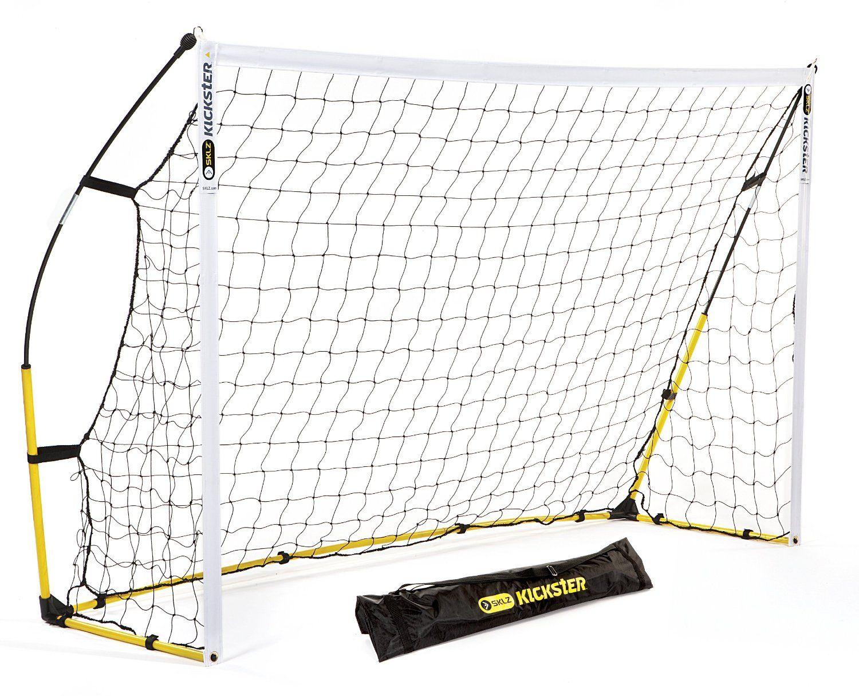 Amazon Com Sklz Quickster Soccer Net Quick Set Up Soccer Goal Kickster Sports Outdoors Soccer Goal Portable Soccer Goals Kids Soccer Goal