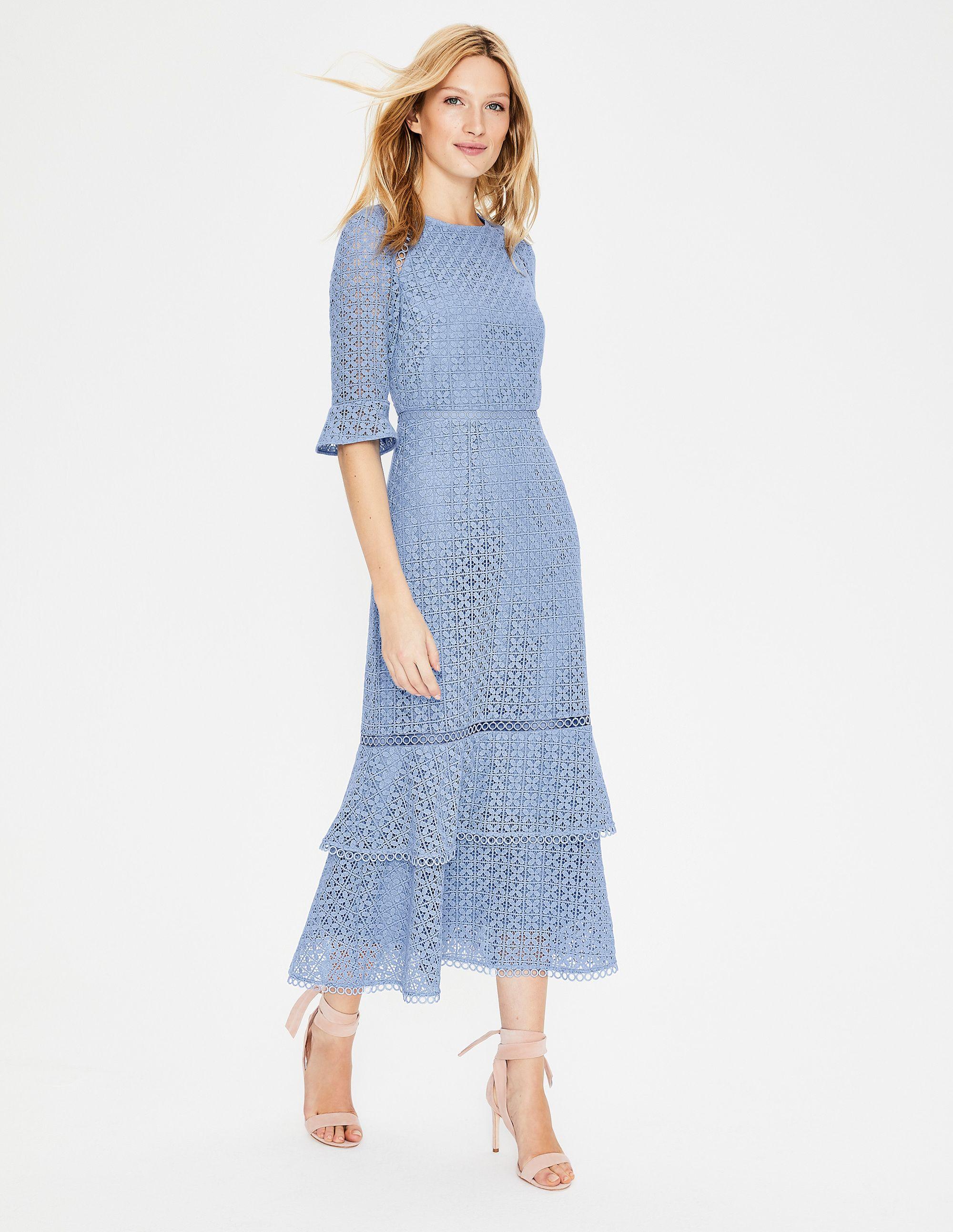 Lana Lace Midi Dress W0331 Special Occasion Dresses At Boden Womens Midi Dresses Lace Midi Dress Dresses