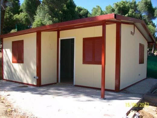 Casa prefabricada paneles 37m2 de la categoria casas - La casa prefabricada ...