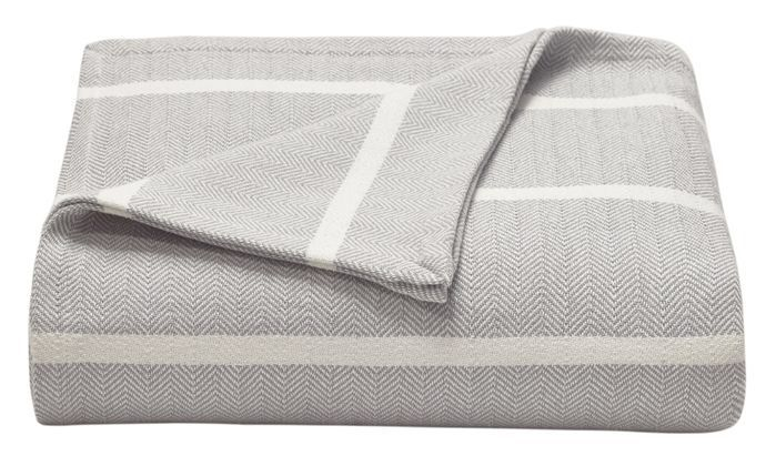 Nader Tweed Knitted Design Throw Cotton Blankets Blanket