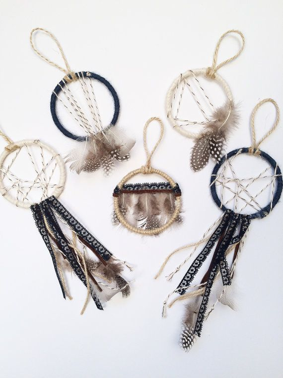 Boho Wedding Favor Set Mini Dream Catcher Party Favors Wedding Unique Dream Catcher Wedding Favors