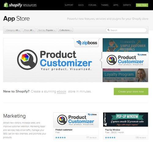Create a high traffic Shopify App Banner for ZipBoss' new