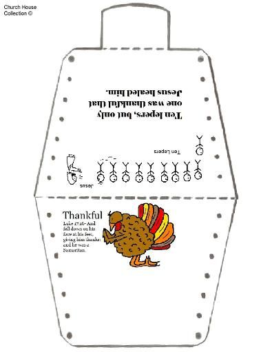 thanksgiving turkey no sew template ten lepers one thankful man