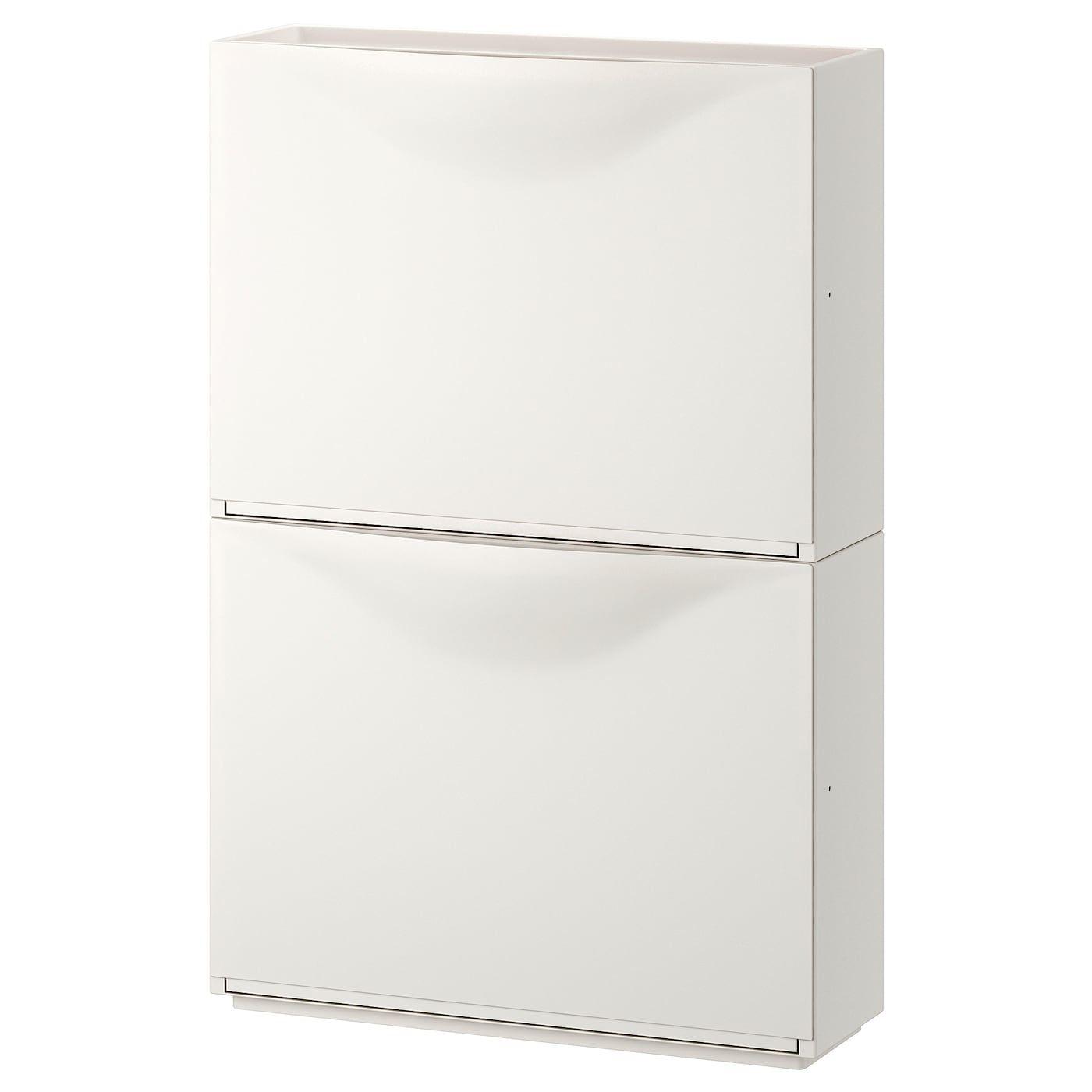 IKEA - TRONES Shoe/storage cabinet, White TRONES S