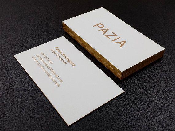 Letterpress business cards 100 2 foil colour edge printing 100 letterpress business cards 2 foil colour edge printing colourmoves