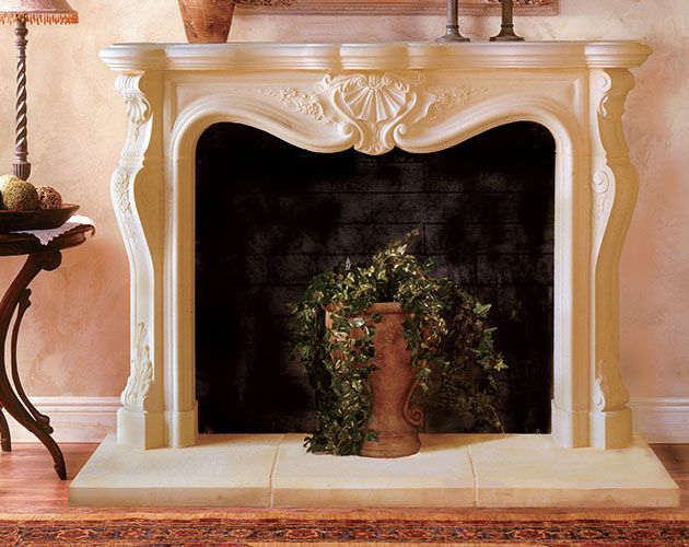 Calais With Images Cast Stone Fireplace Fireplace Mantels
