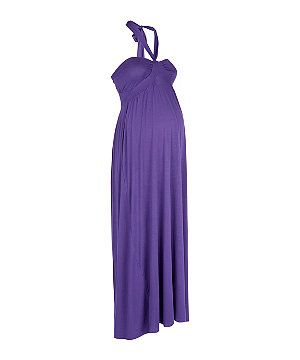Heavenly bump maxi dress