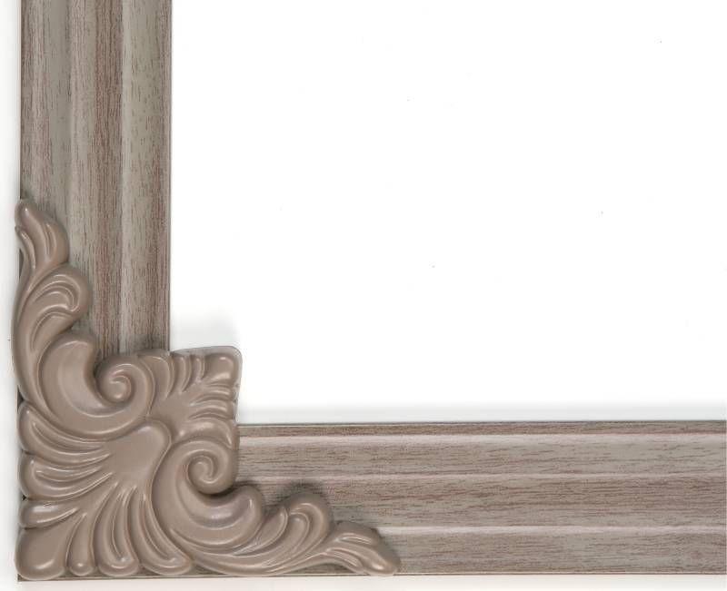 Mirredge Diy Mirror Framing Kit Up To 75 In X 72 Driftwood Decorative