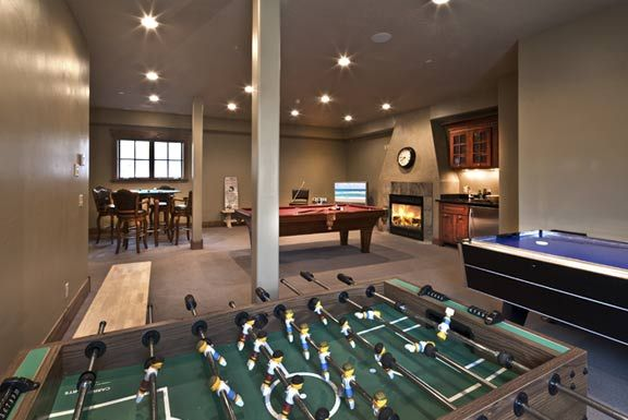 Rec Room Ideas Kids Think It Would Be Fun To Have A Pool Table