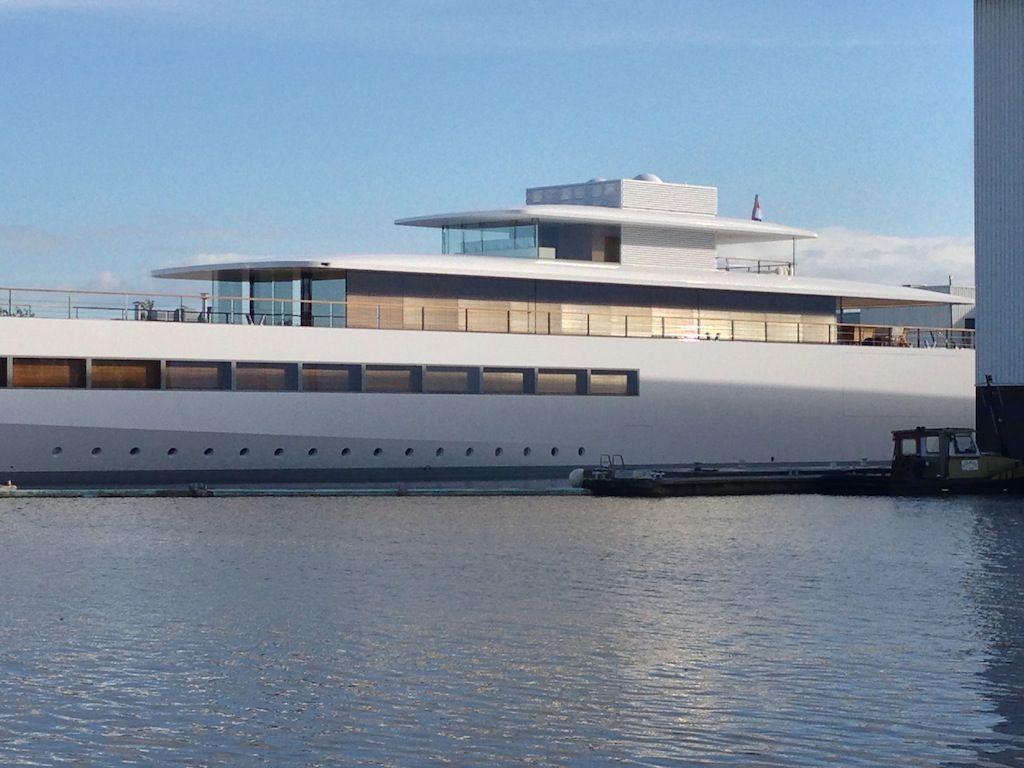 Steve Jobs 39 Venus Yacht General Design Pinterest