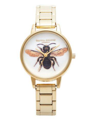 Woodland Bee Bracelet Watch By Olivia Burton Dress Me
