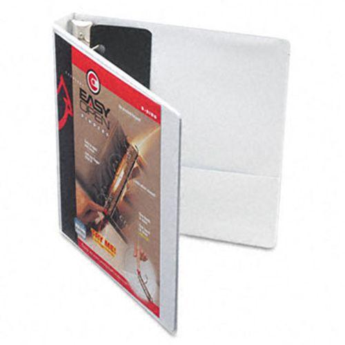 Cardinal Easyopen Clearvue 1 White 3 Ring View Binder Presentation Binders Binder Storage Custom Binder Covers