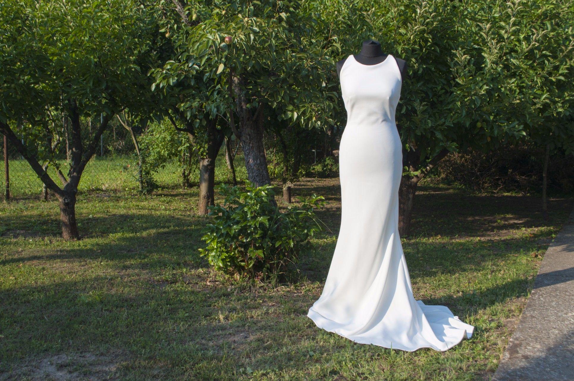 Handmade wedding dress  Affordable handmade wedding dress made in Europe by Glamsy