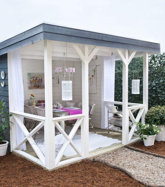 im freien leben mit diesen 13 ideen f r terrassen berdachungen und au enk chen diy. Black Bedroom Furniture Sets. Home Design Ideas