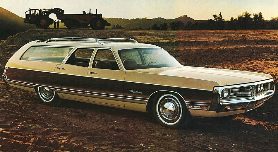 1972 Chrysler New Yorker Town & Country Wagon