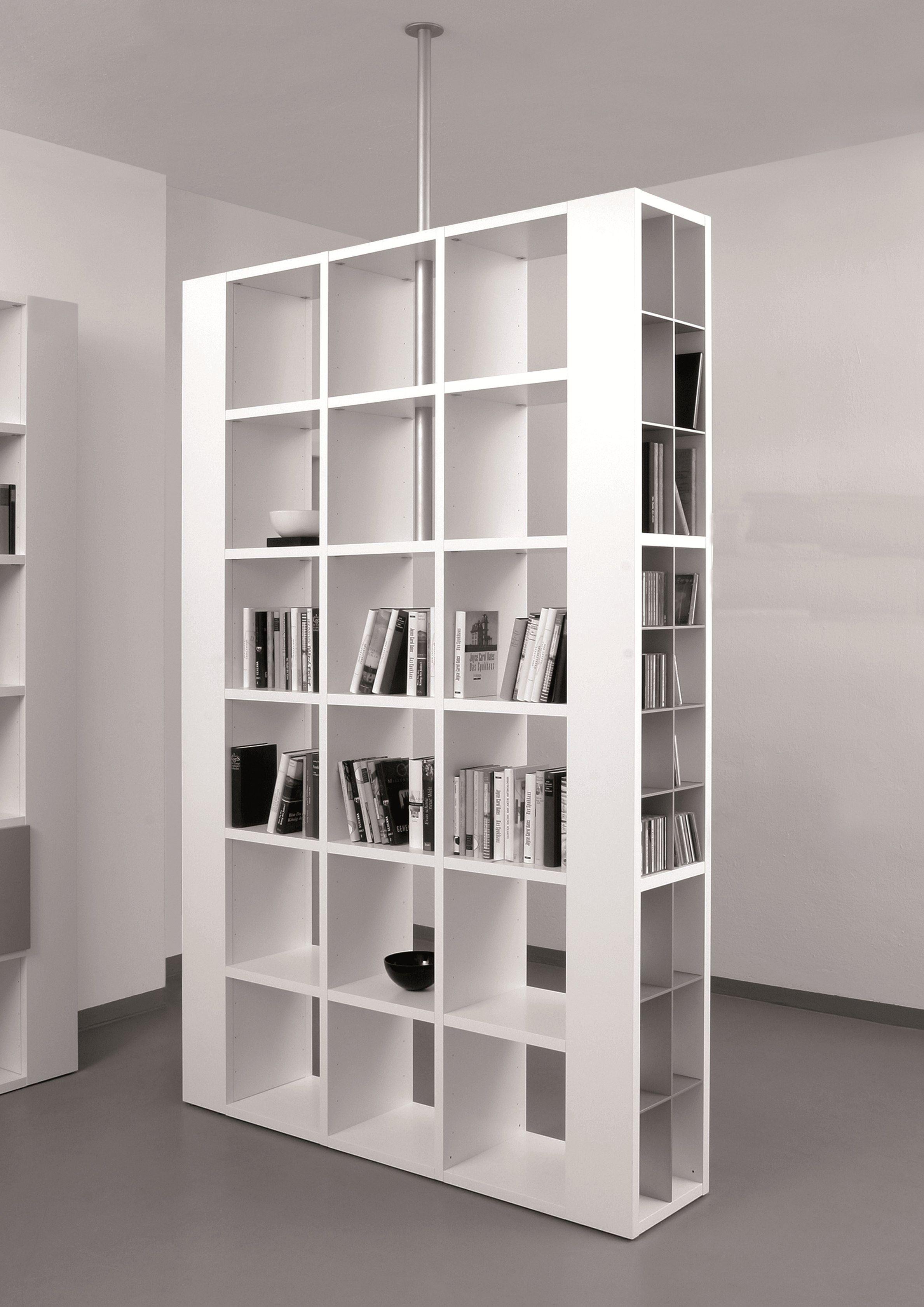 libreria bifacciale divisoria - Cerca con Google | Bookcase ...