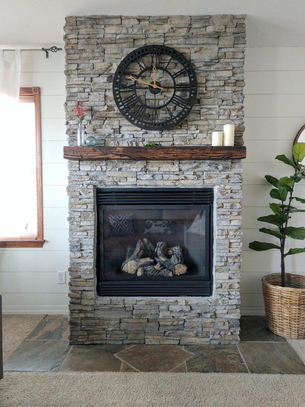 DIY Fireplace Makeover decoratingfireplacediy Diy