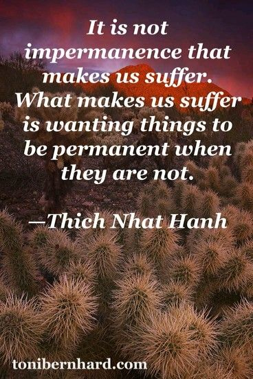 Nothing Is Permanentbuddha Quotes Thich Nhat Hanh Quotes