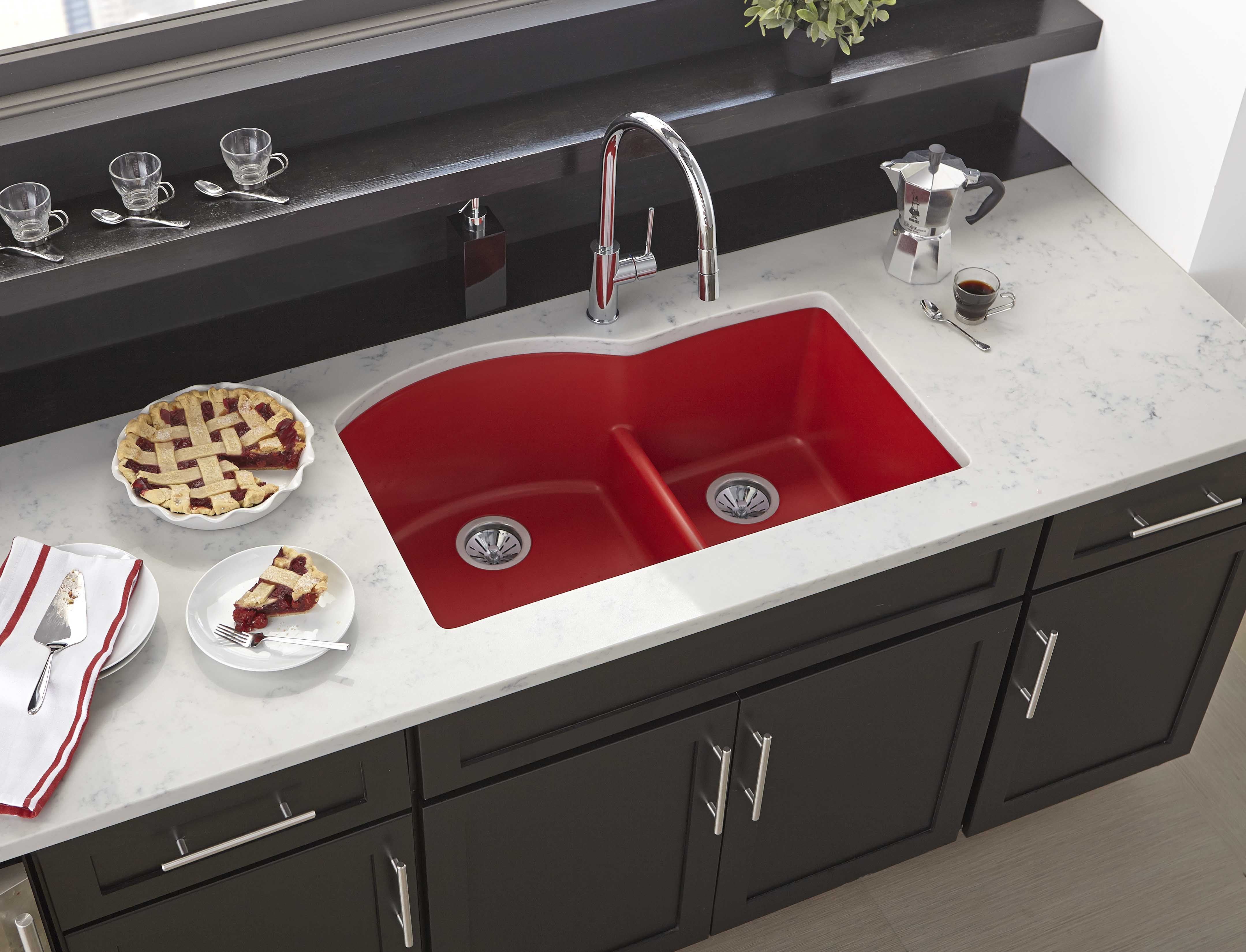 Pin by n s supply on laundry utility rooms pinterest kitchen bring vibrant color and durability to your kitchen with the elkay quartz luxe line of sinks workwithnaturefo