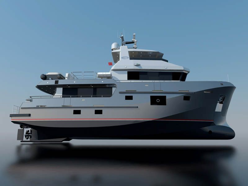 Special Feature: Bering Yachts 77' Expedition Series | Page